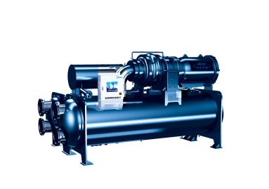 美的中央空调超高效双级压缩降膜式离心机组