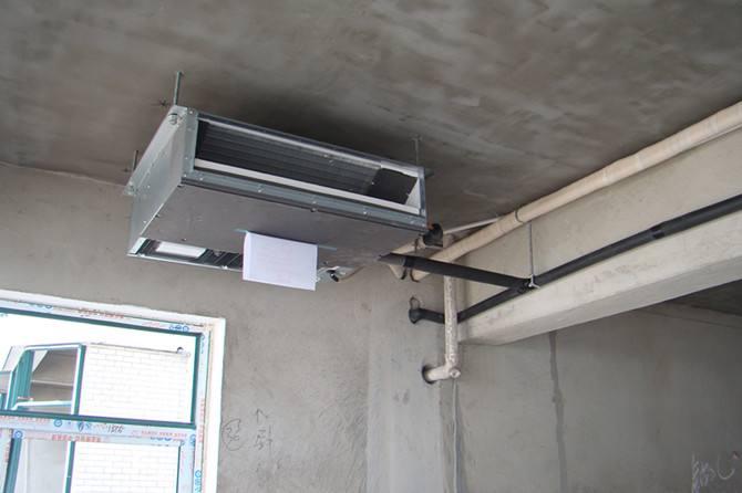 中央空调怎么安装
